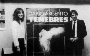 """Daria Nicolodi e Dario Argento in Francia per la prima di """"Tenebre"""""""