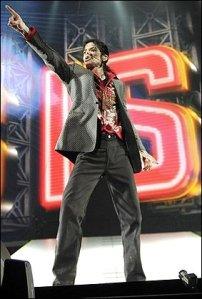 Una tipica posa di MJ